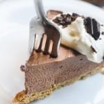 Чизкейк с шоколадно-ореховой пастой