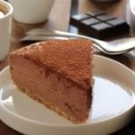 Чизкейк с шоколадом и кофе эспрессо