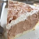 Пирог с воздушным шоколадным кремом