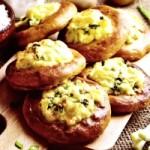Ватрушки с картофелем и зеленым луком