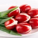 Закуска «Тюльпаны» из томатов