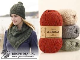 Комплект: шапка и шарф от Drops