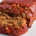 Чечевичный хлеб с томатным соусом