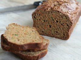 Хлеб с морковью и цуккини