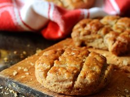 Соленое печенье