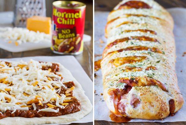 Стромболи (пицца-рулет) с сыром