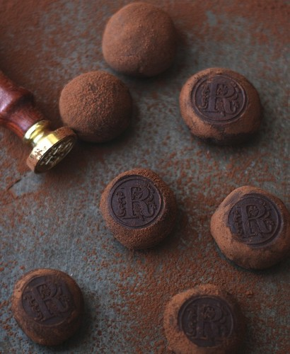 Шоколадные трюфели