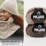 Cinnamon — шапка и шарф-воротник от DROPS