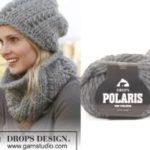 Комплект шапка и шарф-хомут Sweetness от DROPS Design