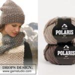 Moston Lane — шапка и шарф от DROPS