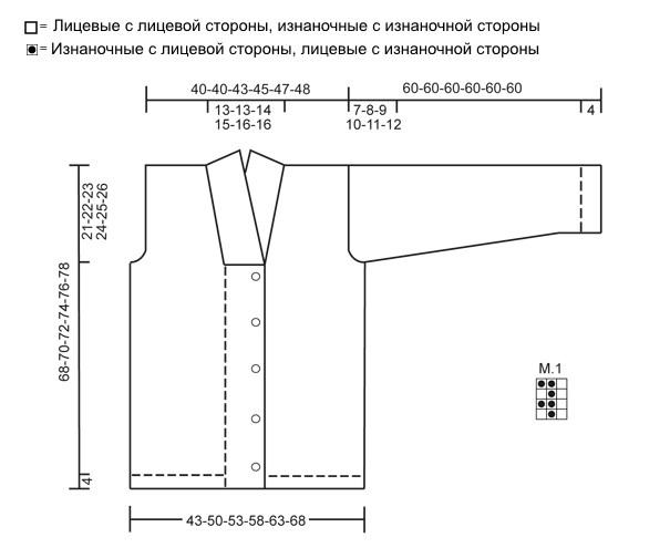 Мужской вязаный жакет Lewis от DROPS Design